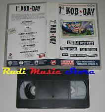 VHS 1 ST KOB DAY OVERSIGHT FFD KLASSE KRIMINALE STAGE BOTTLES no dvd cd lp(VM7)