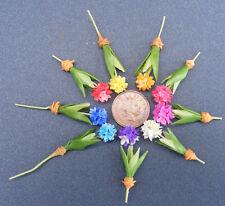 1:12 Scale Handmade Single Polymer Clay Dolls House Allium Garden Flower