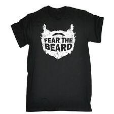 Fear The Beard T-SHIRT Bearded Sarcasm Joke Tee Top Present Gift fathers day