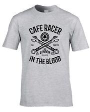 Café Racer Camiseta De Motociclista Moto Tonelada Para Arriba Chicos Greaser