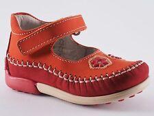 Chicas boomers zapatos 21 nobuck rojo naranja sandalias nuevo