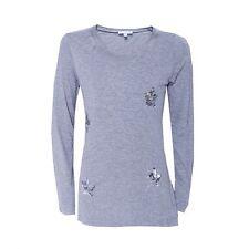 """%% LOUIS & LOUISA """" Glitzer Sternchen """" Shirt grau Pailletten Gr.92 - 164 NEU %%"""