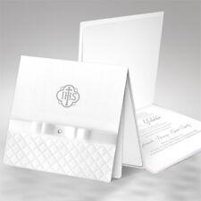 Einladungskarten Einladung zur Kommunion Konfirmation Taufe mit Umschlag FK1225t