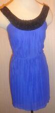 Ladies Trixxi Royal & Black Embellished Party Dress Juniors Sizes 1, 3, 5, 7, 11