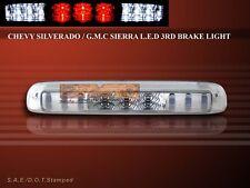 1999-2006 CHEVY SILVERDO / GMC SIERRA LED 3RD BRAKE & CARGO LIGHT CHROME