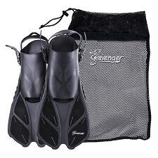 Seavenger Snorkel Swimming Training Fins Mesh Bag Set Combo Adult Unisex Kids