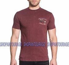 AFFLICTION Jokers Wild A16842 New Men`s Blood Red T-shirt