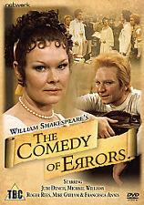 THE COMEDY OF ERRORS GENUINE R2 DVD JUDI DENCH MICHAEL WILLIAMS NEW/SEALED