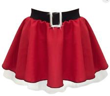 Plus Size Santa Claus Fancy Dress Mrs Claus Christmas Party Costume skirt