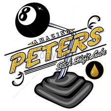 Amazing Peters Stick Shift Lube Funny Hot Rat Rod T-Shirt Tee