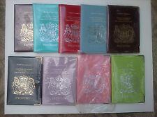Hand made in uk les détenteurs d'un passeport en cuir