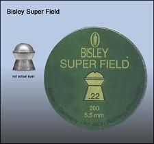 Bisley superfield Air Rifle Bolitas.