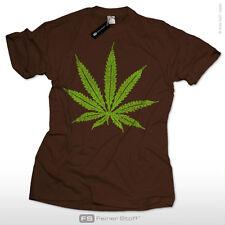 Weed Cannabis Kiffer T-Shirt Skater Bob Marley Hanf Metal Punk Gothic Kult S-3XL