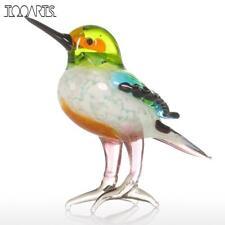 New listing Tooarts Gift Glass Animal Mini Statuettes Handblown Home Decor Multicolor Modern
