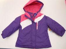 Girls jackets Girls coats Baby Toddler coats Purple Healthtex 3 in 1 Jacket Set