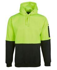 Jb's Hi Vis Pullover Safety Work Hoodie Jumper with Kangaroo Pocket & Pen Pocket