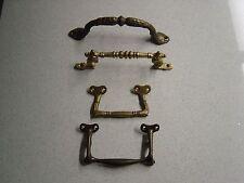 Feststehende massiv Bronze Griffe - Tablettgriffe - Frühstücksbrettgriff