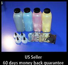 4 HY Toner Refill 4 CHIPS for Samsung CLP-600 CLP-650 CLP600n CLP650n cartridges