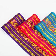 Neotrims Large Inde Paisley Paon Sari Salwar Kameez Loisirs Créatifs Ruban
