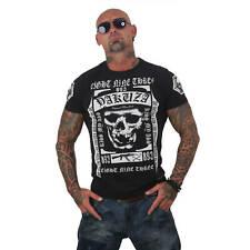 Yakuza T-Shirt Herren Kiss My XXX Logo & Motiv Print TSB 12007 schwarz