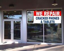 CELL PHONE REPAIR BANNER Business Advertising Tablet Cell Phone Repair