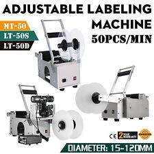 MT-50/LT-50  Runde Flasche Etikettiermaschine Etikettierer Mit Datum Drucker