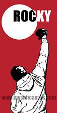 Original Rocky Balboa Poster Blu Boxing Art Print Apollo Creed Hot Toys nt Mondo