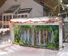 3D Alpine Waterfa Garage Door Murals Wall Print Decal Wall Deco AJ WALLPAPER CA