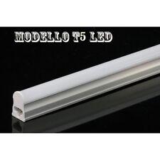 NEON TUBO LED T5 COMPLETO DI PLAFONIERA 60-90-120CM LUCE CALDA/FREDDA GARANZIA