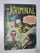 KRIMINAL di MAGNUS&BUNKER-EDITORIALE CORNO- N°300