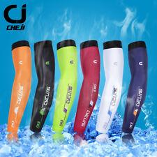 CHEJI Cycling Arm Coolers Unisex Running Bike Bicycle Arm Warmers Sleeve S-XXL