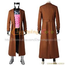 X Men Gambit Remy Etienne LeBeau Cosplay Costume Men Halloween Uniform Outfit