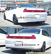 OE Optional Style Rear Lip (Urethane) Fits 98-00 Honda Accord 2dr