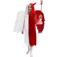 VESTITO COSTUME Maschera di CARNEVALE / Halloween - ANGEL e DEVIL