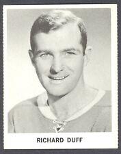 1965 COCA-COLA COKE RICHARD DICK DUFF NM MONTREAL CANADIENS HOCKEY CARD