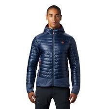 Mountain Hardwear Mens Ghost Shadow Jacket Top - Navy Blue Sports Outdoors