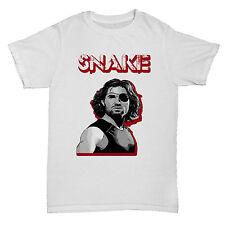 Serpiente Plissken inspirado Escape de Nueva York película de Culto Película Retro Camiseta
