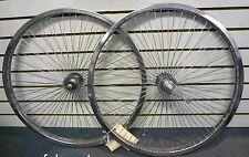 "Beach Cruiser Bike 26""x1.75  68 spokes R & F Wheelset Chrome W Coaster Brake Rim"