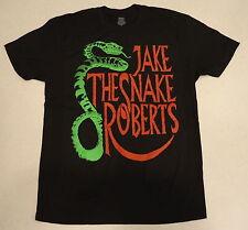 WWE AUTHENTIC JakeThe Snake Roberts Slither Legends Black T-Shirt - BRAND NEW