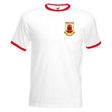 Gibraltar Retro Style National Football Team Soccer T-Shirt - All Sizes