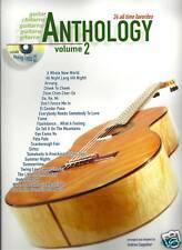 CHITARRA Anthology Spartiti Musicali LIBRO & CD Vol. 2 Nuovo Vari Stili