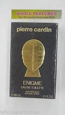 ENIGME PIERRE CARDIN FOR MEN 2.0 OZ/ 2 OZ/60 ML EAU DE TOILETTE EDT SPRAY NIB