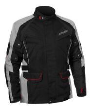 Castle Street Men's Mission Air Black Grey Waterproof Motorcycle Touring Jacket