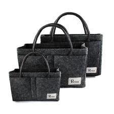 Periea Handbag Organiser Grey Felt Organizer Purse Insert Small Medium Large