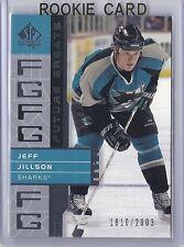 2002-03 UPPER DECK SP AUTHENTIC JEFF JILLSON UD FUTURE GREATS SP /2003 #130