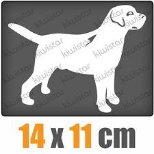 Hund Dog csf0426 14 x 11 cm JDM  Sticker Aufkleber