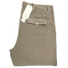 66977 pantaloni velluto MAURO GRIFONI   jeans uomo trousers men  verde