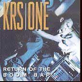 Return of the Boom Bap by KRS-One (CD, Sep-1993, Jive (USA))