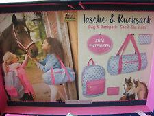 NEU Tasche Falttasche oder Rucksack Faltrucksack Pferdefreunde Pferd Spiegelburg