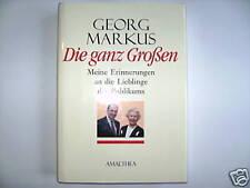 GEORG MARKUS DIE GANZ GROßEN AMALTHEA 2000